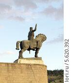 Купить «Статуя Вахтанга Горгасали - основателя Тбилиси. Грузия», фото № 5620392, снято 3 июля 2013 г. (c) Евгений Ткачёв / Фотобанк Лори