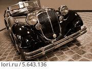 Ретро автомобиль Horch-853A 1938г (2010 год). Редакционное фото, фотограф Алексей Горбунов / Фотобанк Лори