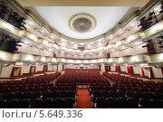 Купить «Большой зал театра Вахтангова», фото № 5649336, снято 23 апреля 2012 г. (c) Losevsky Pavel / Фотобанк Лори