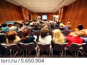 Купить «Семинар по детскому питанию  30 ноября 2010 года в Москве», фото № 5650904, снято 30 ноября 2010 г. (c) Losevsky Pavel / Фотобанк Лори