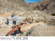 Купить «Старый рудник в Долине Смерти, Калифорния, США», фото № 5658268, снято 2 октября 2013 г. (c) Aleksandr Stzhalkovski / Фотобанк Лори