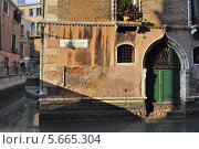 Фрагмент здания в Венеции (2013 год). Стоковое фото, фотограф Алексей Яковлев / Фотобанк Лори