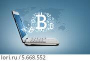 Купить «Раскрытый ноутбук с запущенным приложением», фото № 5668552, снято 14 ноября 2013 г. (c) Syda Productions / Фотобанк Лори