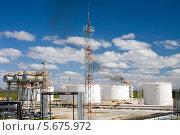 Купить «Нефтеперерабатывающий завод», фото № 5675972, снято 13 июня 2010 г. (c) Георгий Shpade / Фотобанк Лори