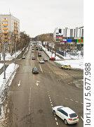 Купить «Ботаническая улица в Москве», эксклюзивное фото № 5677988, снято 17 марта 2013 г. (c) Алёшина Оксана / Фотобанк Лори