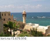 Купить «Израиль. Мечеть Джама эль-Бахар (аль-Бахр, Морская мечеть) в Яффо», фото № 5679916, снято 4 октября 2012 г. (c) Ирина Борсученко / Фотобанк Лори