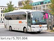 Купить «Автобус Mercedes-Benz O510 Tourino», фото № 5701004, снято 10 сентября 2013 г. (c) Art Konovalov / Фотобанк Лори