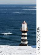 Купить «Петропавловский маяк. Камчатка», фото № 5706436, снято 13 марта 2014 г. (c) А. А. Пирагис / Фотобанк Лори
