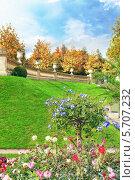Люксембургский сад в Париже, Франция (2013 год). Стоковое фото, фотограф Vitas / Фотобанк Лори