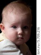 Лицо ребёнка. Стоковое фото, фотограф Сергей Васильев / Фотобанк Лори