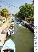 Канал Негомбо-Коломбо (2014 год). Стоковое фото, фотограф Сергей Воронин / Фотобанк Лори