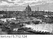 Купить «Общий вид  Перми с южной стороны», иллюстрация № 5712124 (c) Инна Грязнова / Фотобанк Лори