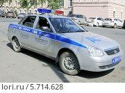 Купить «Полицейский автомобиль специализированной роты ДПС ГИБДД  УМВД России по Вологодской области», эксклюзивное фото № 5714628, снято 14 июля 2013 г. (c) stargal / Фотобанк Лори