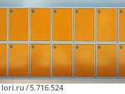 Купить «Ящики камеры хранения», фото № 5716524, снято 15 марта 2014 г. (c) Игорь Долгов / Фотобанк Лори