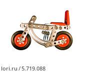 Купить «Игрушка-мотоцикл», фото № 5719088, снято 5 марта 2014 г. (c) Oleksandr Khalimonov / Фотобанк Лори
