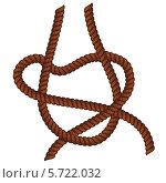Купить «Петля из веревки», иллюстрация № 5722032 (c) Анна Павлова / Фотобанк Лори