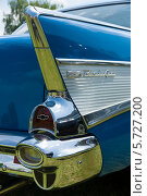 Купить «Автомобиль  Chevrolet Bel Air Sedan», фото № 5727200, снято 19 мая 2013 г. (c) Sergey Kohl / Фотобанк Лори