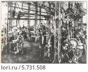 Купить «Механический цех, дореволюционный завод. Нейво-Алапаевский металлургический завод, год основания 1704», фото № 5731508, снято 26 мая 2019 г. (c) Дудакова / Фотобанк Лори