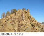 """Вершина горы """"Омулевая"""" Тарбагатайский район, Бурятия. Стоковое фото, фотограф Дина Мальцева / Фотобанк Лори"""