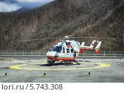 Купить «Вертолет МЧС России», фото № 5743308, снято 15 марта 2014 г. (c) Игорь Струков / Фотобанк Лори