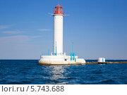 Украина, Одесса, черное море, действующий Воронцовский маяк. Стоковое фото, фотограф Оксана Кабрина / Фотобанк Лори