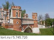 Весенний пейзаж в Царицыно (2013 год). Редакционное фото, фотограф Светлана Пальцева / Фотобанк Лори