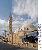 Купить «Израиль. Мечеть Махмудия в Яффо», фото № 5753456, снято 5 октября 2012 г. (c) Ирина Борсученко / Фотобанк Лори
