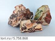 Купить «Яшма - полудрагоценный поделочный камень красивой слоистой разноцветной окраски», эксклюзивное фото № 5758868, снято 17 марта 2014 г. (c) Виктория Катьянова / Фотобанк Лори