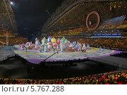 """Церемония открытия XXII зимних Олимпийских игр в Сочи 7 февраля 2014, """"Масленица"""" Редакционное фото, фотограф Алексей Гусев / Фотобанк Лори"""