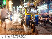 Пробка на дороге Yaowarat  в Бангкоке. Таиланд (2013 год). Редакционное фото, фотограф Михаил Мандрыгин / Фотобанк Лори