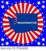 Купить «Штат Вашингтон», иллюстрация № 5774600 (c) Мастепанов Павел / Фотобанк Лори