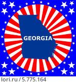 Купить «Штат Джорджия», иллюстрация № 5775164 (c) Мастепанов Павел / Фотобанк Лори