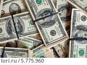 Купить «Фон из долларов», фото № 5775960, снято 23 февраля 2012 г. (c) Яков Филимонов / Фотобанк Лори