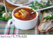 Купить «Овощной суп с цветной капустой», фото № 5776620, снято 17 марта 2014 г. (c) Peredniankina / Фотобанк Лори