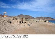 Дорога в пустынных Синайских горах (2013 год). Стоковое фото, фотограф Ольга Коцюба / Фотобанк Лори
