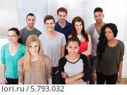 Купить «групповой портрет однокурсников», фото № 5793032, снято 2 февраля 2014 г. (c) Андрей Попов / Фотобанк Лори