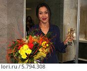 Купить «Певица Севара», фото № 5794308, снято 5 апреля 2014 г. (c) Павлова Татьяна / Фотобанк Лори