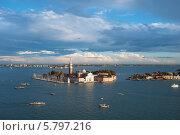 Вид сверху на Венецию (2013 год). Стоковое фото, фотограф Евгений Нелихов / Фотобанк Лори