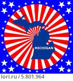 Купить «Штат Мичиган», иллюстрация № 5801964 (c) Мастепанов Павел / Фотобанк Лори