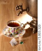 Самовар. Чай. (2013 год). Редакционное фото, фотограф Андрей Кротов / Фотобанк Лори