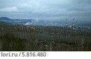 Купить «Над Красноярском нависли тучи», видеоролик № 5816480, снято 3 ноября 2013 г. (c) Ирина Егорова / Фотобанк Лори