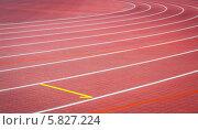 Беговые дорожки на стадионе. Стоковое фото, фотограф Артем Мишуков / Фотобанк Лори