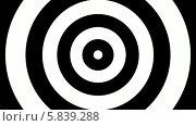 Купить «Концентрический набегающий круг», видеоролик № 5839288, снято 18 апреля 2014 г. (c) LVV / Фотобанк Лори