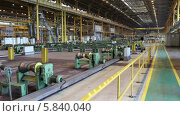 Купить «Помещение завода», видеоролик № 5840040, снято 24 апреля 2014 г. (c) Кекяляйнен Андрей / Фотобанк Лори