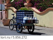 Купить «Магазин на колесах», фото № 5856272, снято 1 апреля 2013 г. (c) Морозова Татьяна / Фотобанк Лори