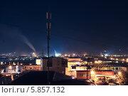 Ночной город. Стоковое фото, фотограф Петренко Иван / Фотобанк Лори