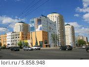 Купить «Гостиница BonHotel, Минск, Беларусь», фото № 5858948, снято 30 апреля 2014 г. (c) Марина Шатерова / Фотобанк Лори