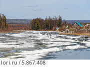 Купить «Озеро Долгое, весна», фото № 5867408, снято 28 апреля 2014 г. (c) Роман Фомин / Фотобанк Лори