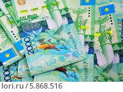 Купить «Фон из купюр Казахстана», эксклюзивное фото № 5868516, снято 12 декабря 2018 г. (c) Blekcat / Фотобанк Лори