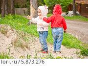 Маленькие друзья (2013 год). Редакционное фото, фотограф Евдокимова Ольга / Фотобанк Лори